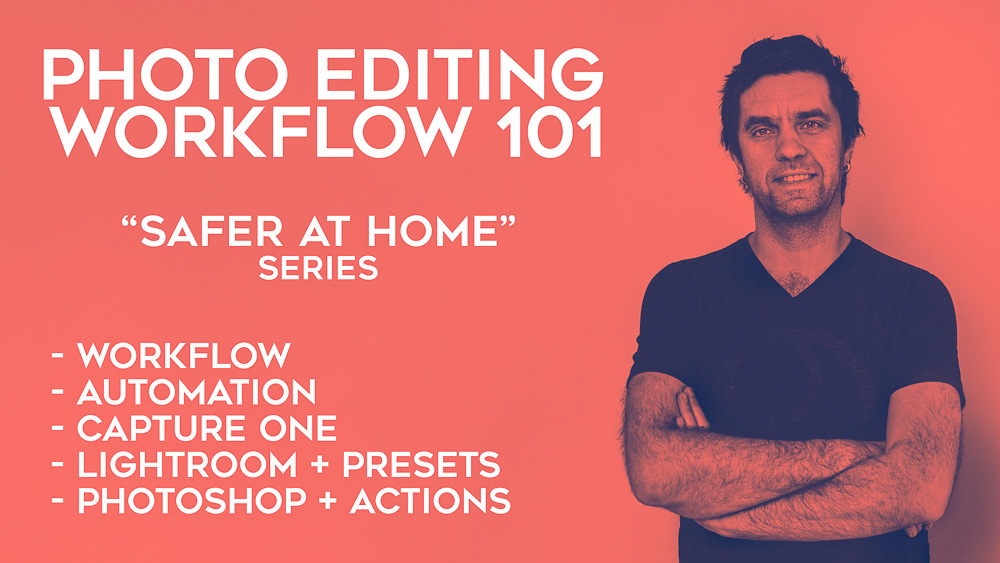 photography editing workflow workshop